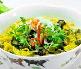 Món bún bắp chỉ có ở Phú Yên