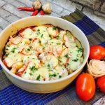 Món cá sốt cà chua phô mai bỏ lò vừa nhanh vừa ngon