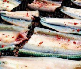 Món cá xương xanh đặc sản của đảo Nam Du