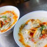 Món cháo chả cá Đà Lạt ngon hấp dẫn