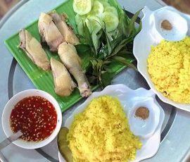 Món cơm gà Phan Rang