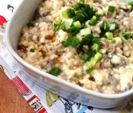 Món đậu phụ hấp cá cho người ăn kiêng
