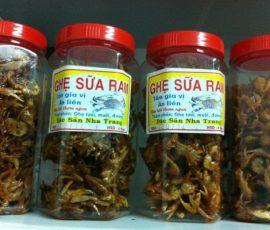 Món ghẹ sữa ram - Đặc sản của miền biển Nha Trang