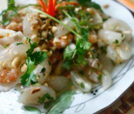 Món gỏi bòn bon Tiên Phước Quảng Nam