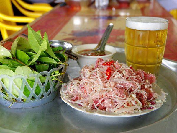 Món nem chua An Thọ đặc sản danh tiếng của ẩm thực Hải Phòng
