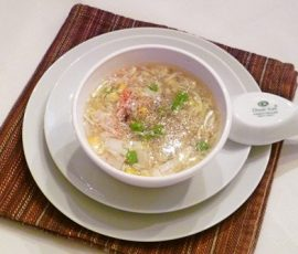 Món súp cua thơm ngon