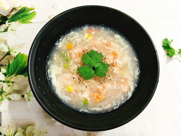 Món súp tôm ngọt thơm bổ dưỡng ăn hoài không chán