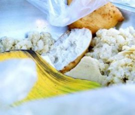 Món xôi vò bánh chiên món ngon chỉ có ở Phan Thiết