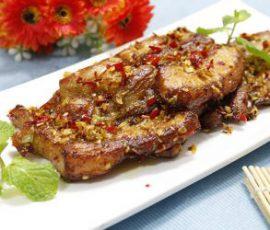 Món thịt ba chỉ chiên sả ớt vừa ngon mà lại dễ làm