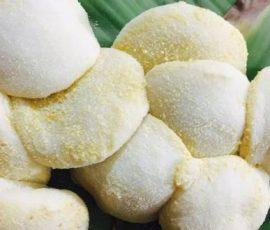 Món bánh dày làng Gàu Hưng Yên
