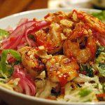 Món bún tôm Trà Ổ đặc sản đất võ Bình Định