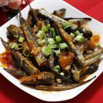 Món cá kèo sốt cà chua chua mặn mặn hao cơm ngày mưa