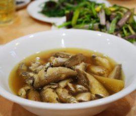 Món cá linh kho mía - đặc sản miền sông nước