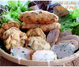 Món chả cá chay thanh đạm cho ngày Lễ Phật Đản