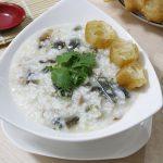 Món cháo trứng bắc thảo mềm nhuyễn cho ngày nắng