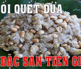 Món chuối quết dừa Tiền Giang