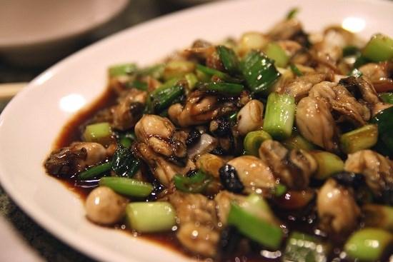 Món ăn từ hàu son Quảng Ngãi