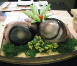Mắt cá ngừ đại dương - đặc sản ở Phú Yên
