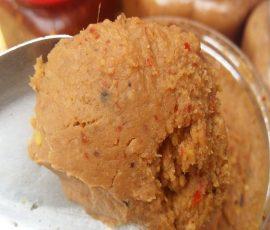 Món chấm từ đỗ tương đặc sản của người Thái Sơn La
