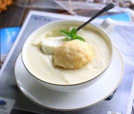 Món sữa sầu riêng thơm lừng, mát lịm