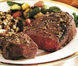 Thịt bò kiến đốt món đặc sản của Vĩnh Phúc