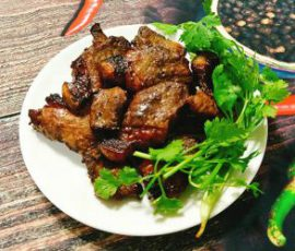 Món thịt nướng ngũ vị ngon đậm đà mà không bị khô