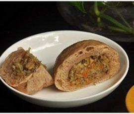 Món bánh bao gạo lứt vừa đơn giản vừa bổ dưỡng