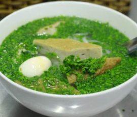 Món bánh canh hẹ Phú Yên