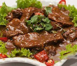 Món bò sốt tiêu đen ngon chuẩn vị giàu dinh dưỡng