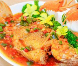 Món cá diêu hồng sốt thơm cà chua cực ngon cho bữa cơm chiều