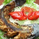 Món cá nướng riềng sả thơm ngon đậm vị