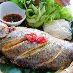 Món cá nướng sả ớt thơm lừng hấp dẫn