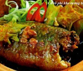 Món cá rô phi kho tương bần ngon khó cưỡng