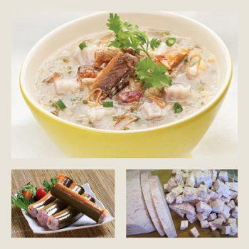 Món cháo lươn đậu xanh khoai môn ngon mà không tanh