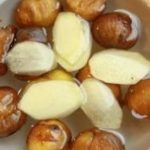 Món chè hạt dẻ nấu gừng bổ dưỡng tốt cho sức khỏe