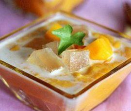 Món chè nha đam trái cây vừa ngon vừa đẹp da