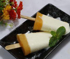 Món kem sữa chua quýt ngọt dịu hấp dẫn