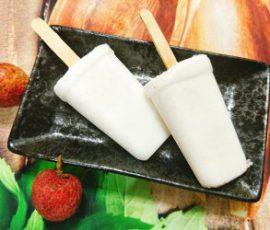 Món kem vải ngọt mát xua tan nắng nóng ngày hè