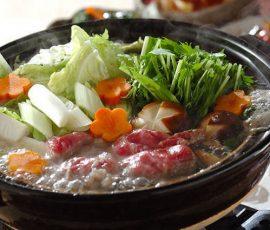 Món lẩu bò nhúng ngon đúng chuẩn vị Nhật