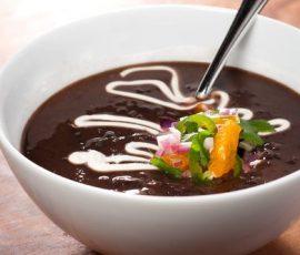 Món súp đậu đen giải nhiệt ngày hè cho bé
