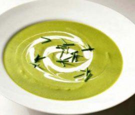 Món súp đậu Hà Lan kem tươi ngon đậm đà béo ngậy