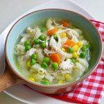 Món súp đậu ngự cà rốt thịt gà ngon mê ly