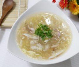 Món súp hải sản thơm ngọt bổ dưỡng