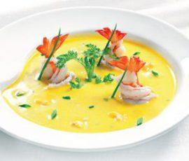 Món súp tôm cà rốt bổ dưỡng giàu canxi và vitamin