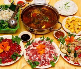 Món bê chao - đặc sản của cao nguyên Mộc Châu