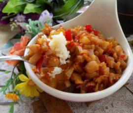 Món tóp mỡ chua ngọt ngon đậm đà đưa cơm