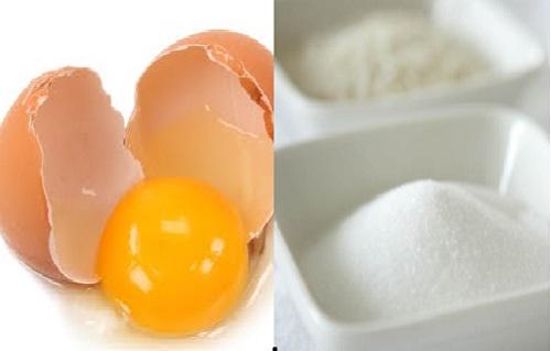 Không nên ăn trứng gà với đường