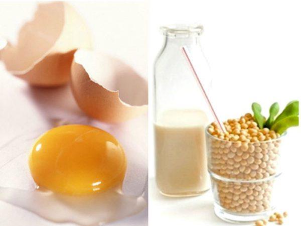Không nên ăn trứng gà với đậu tương