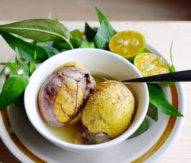 Ăn trứng vịt lộn thế nào để tốt cho sức khỏe