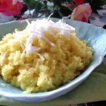 Món xôi sầu riêng đậu xanh kiểu Thái Lan đơn giản tại nhà